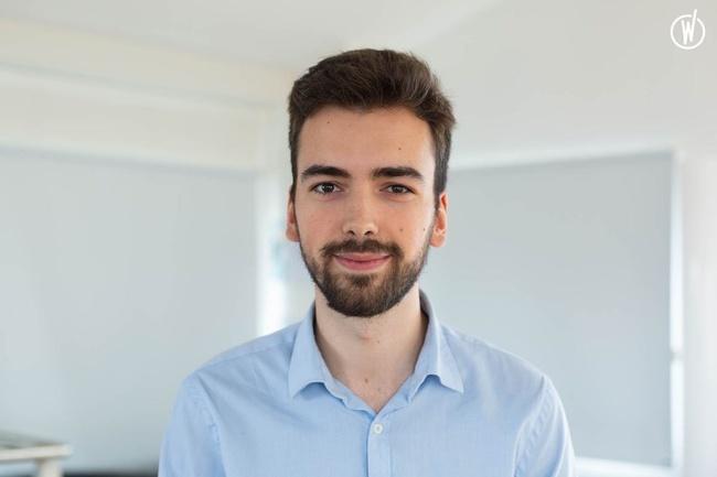 Rencontrez Gauthier, Développeur