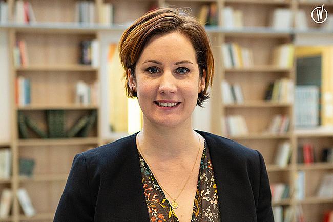 Rencontrez Elisa, Directrice d'agence de Paris - La Mobilery