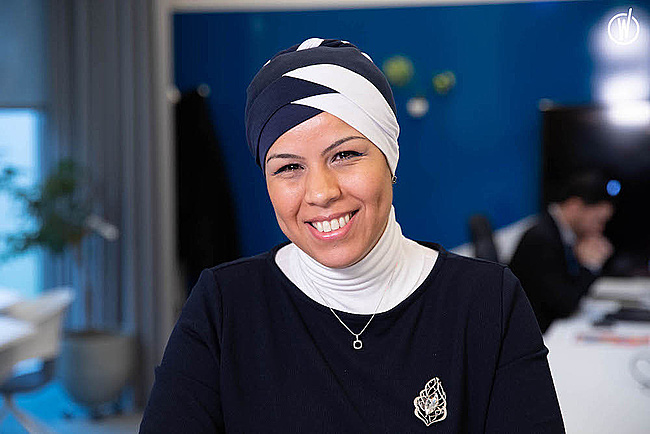 Rencontrez Samia B, Directrice de l'offre Codex pour le secteur Télécom à Paris - Atos