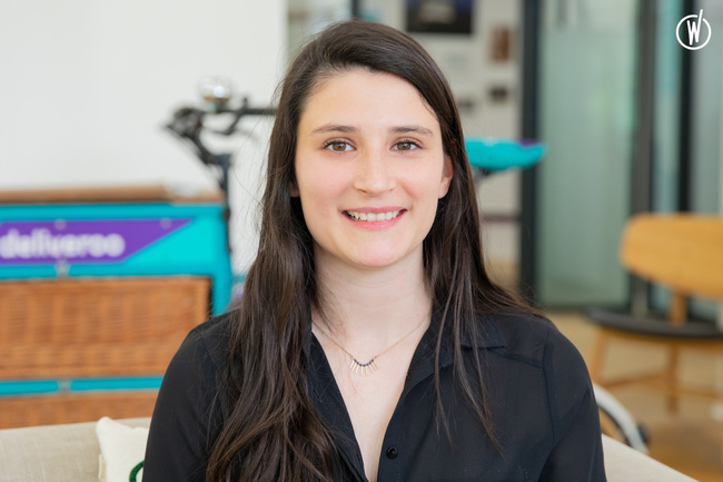 Rencontrez Alice,Marketing Project Associate - Deliveroo