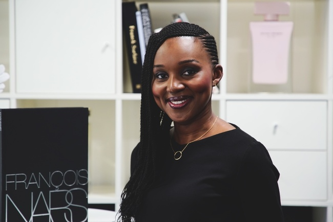 Rencontrez Christelle, Regional Sales Manager NARS