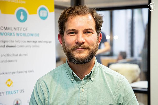 Rencontrez Baptiste, Directeur Commercial - AlumnForce - Alumni Success Platform