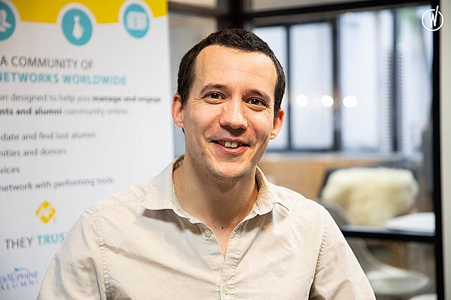 Rencontrez Jean François, Head of engineering - AlumnForce - Alumni Success Platform