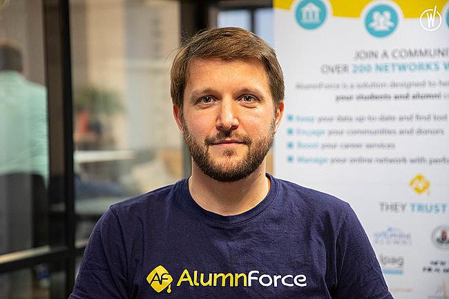 Rencontrez Fabien, Responsable Customer Success - AlumnForce - Alumni Success Platform