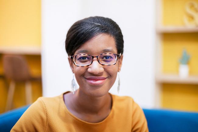 Rencontrez Sandrine, i-Pilote - Chargée de clientèle - Nextories (anciennement i-Demenager)