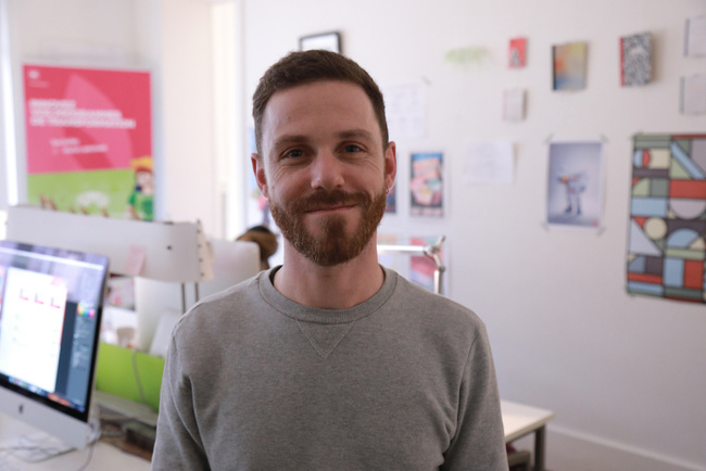 Rencontrez Benjamin, Directeur artistique, Manager pôle UI - Skapa