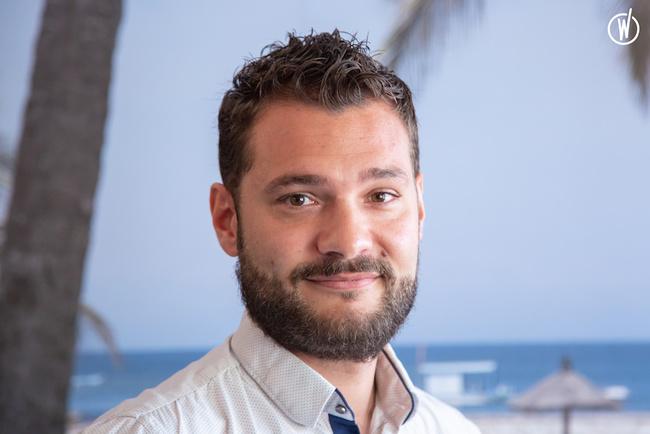 Rencontrez Yoann, Head of IT in Resort - Club Med