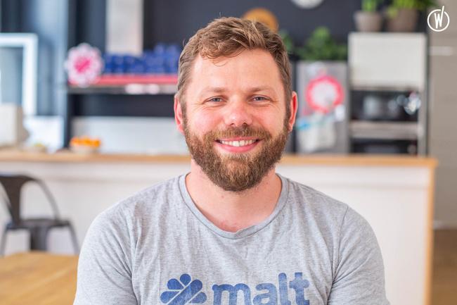 Meet Richard, Head of Talent - Malt