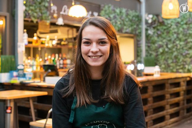 Rencontrez Victoria, Assistante Manager - La Capucine