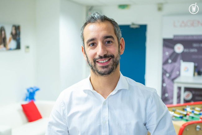 Rencontrez Jonathan, Co fondateur - L'Agence Web