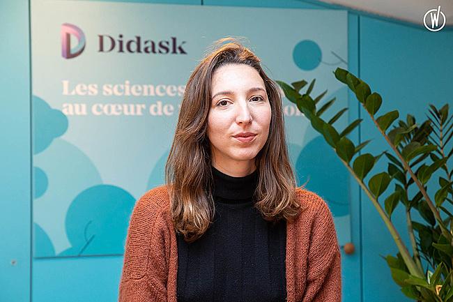 Découvrez Didask avec Agathe, Responsable du développement - Didask