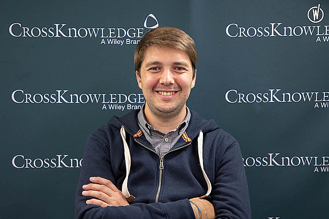 Rencontrez Aymeric, Team Lead Software developer - CrossKnowledge