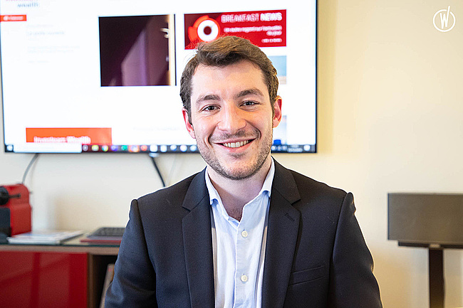 Rencontrez Nathan, Responsable commercial - Investeam