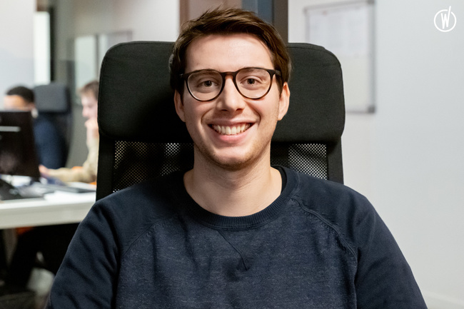 Meet Romain, Developer back end - DATASOLUTION