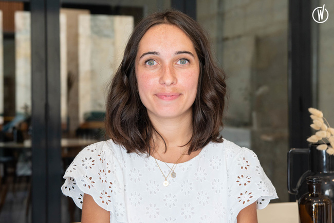 Rencontrez Marie, Ingénieur Travaux - Little Worker