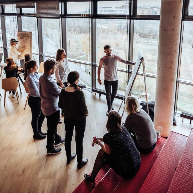 Práce v týmu a prezentace u klienta - Dentsu Aegis Network