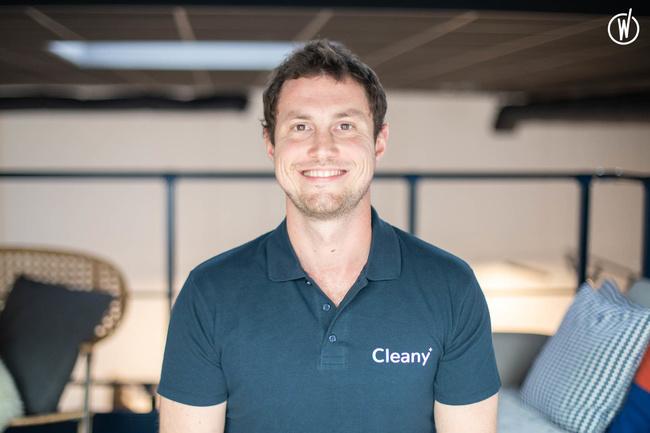 Rencontrez Alexandre, Fondateur  - Cleany