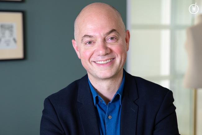 Rencontrez Jean-Baptiste, Directeur Général - CLAUDIE PIERLOT
