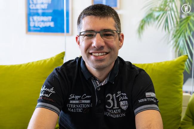 Rencontrez Cyrille, Senior Frontend Developer - Dawex