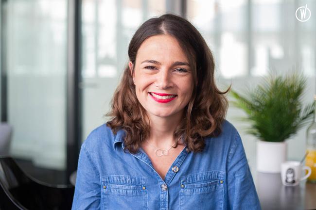 Rencontrez Marie, Responsable Communication  - Groupe Odalys