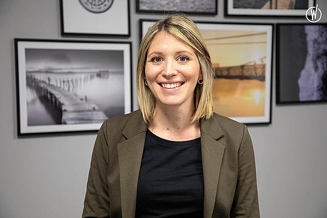Rencontrez Marine, Directrice Marketing & Communication - Axess Groupe