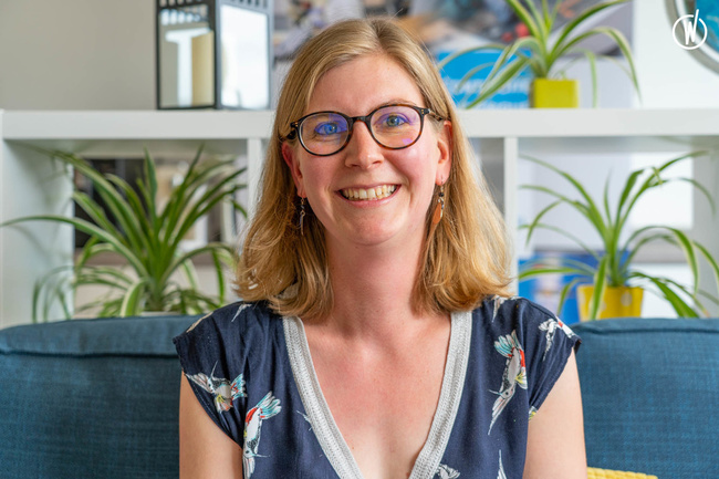 Rencontrez Maude, Consultante MES - Creative IT