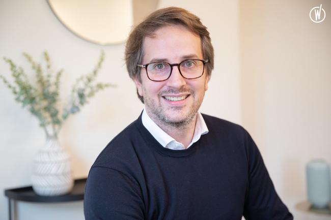 Rencontrez Benoit, CEO
