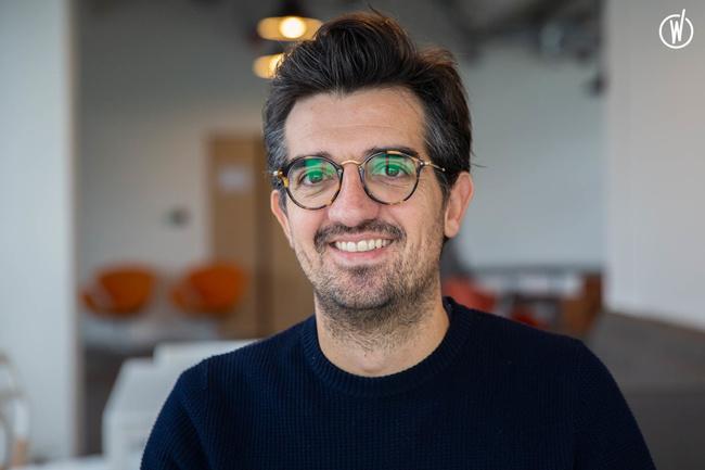 Rencontrez Geoffroy, Directeur Commercial