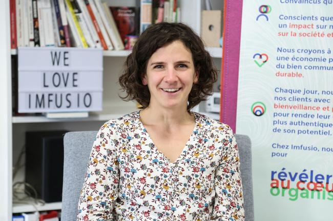 Rencontrez Hélène, Designer de transformation