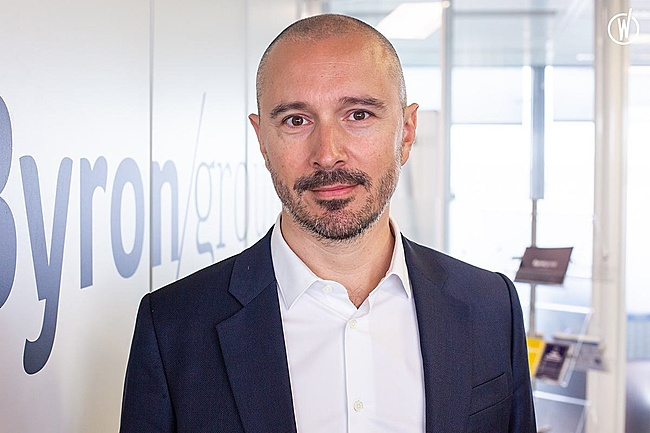 Rencontrez Fabien, Co-Founder - Byron Group