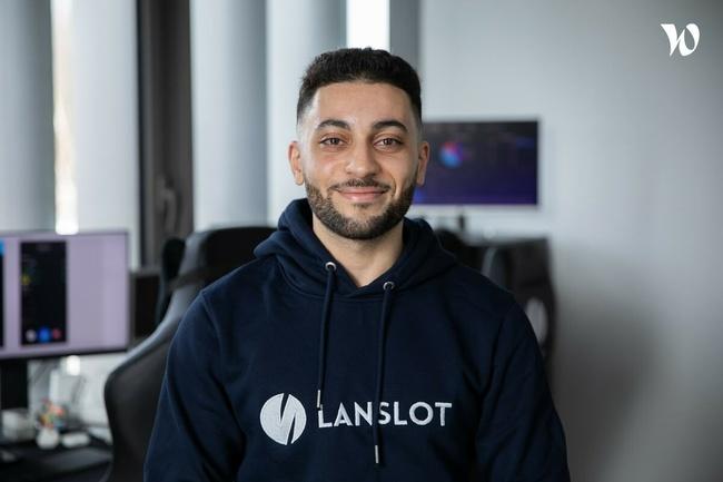 Rencontrez Chedli, CEO & cofondateur - Lanslot