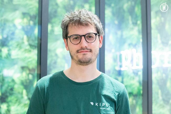 Rencontrez Davide, Co-founder & CEO