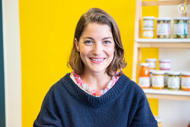 Rencontrez Delphine , Co-fondatrice et responsable des opérations - LES 3 CHOUETTES
