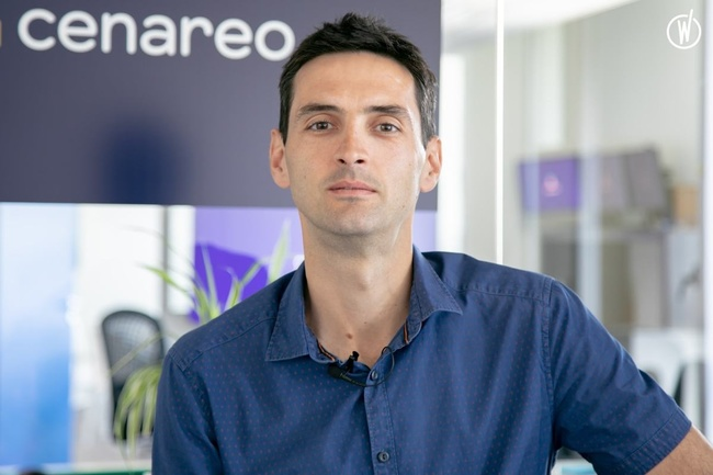 Rencontrez Bruno, VP Engineering - Cenareo