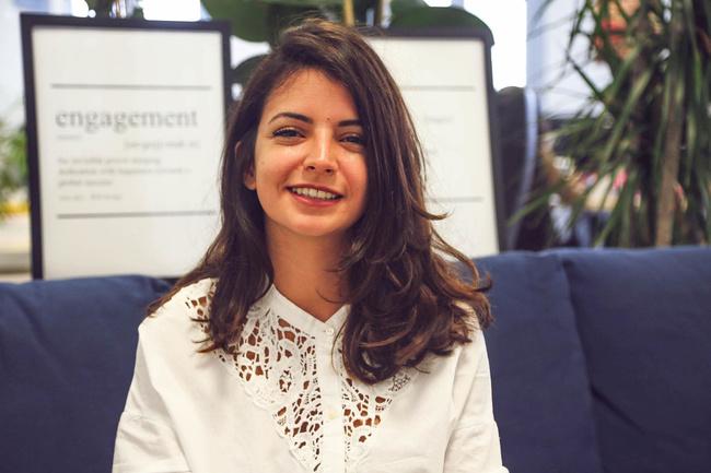Rencontrez Safia, Responsable Marketing - Supermood