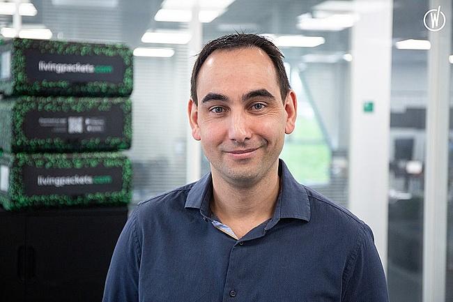 Meet Mathieu, Head of Research & Design - LivingPackets