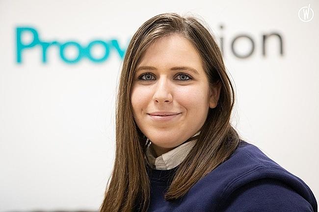 Rencontrez Eléonore, Marketing Manager - ProovStation