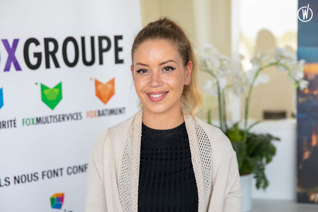 Rencontrez Delphine, Chargée d'affaires - Fox Propreté Multiservices