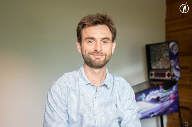 Rencontrez Cédric, Chef de projet informatique