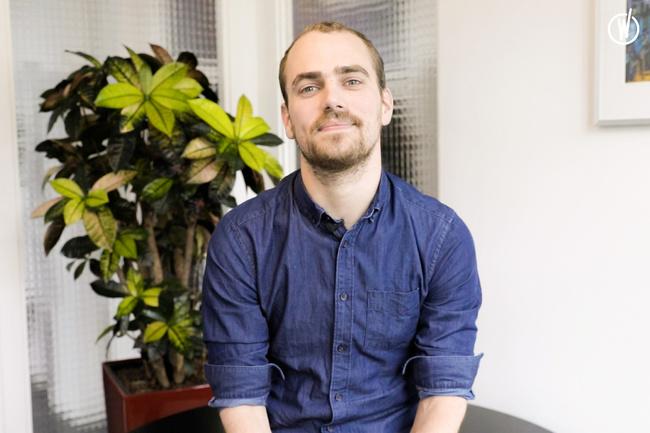 Rencontrez Teddy, Ingénieur d'études, Consultant Net - Infinite Square