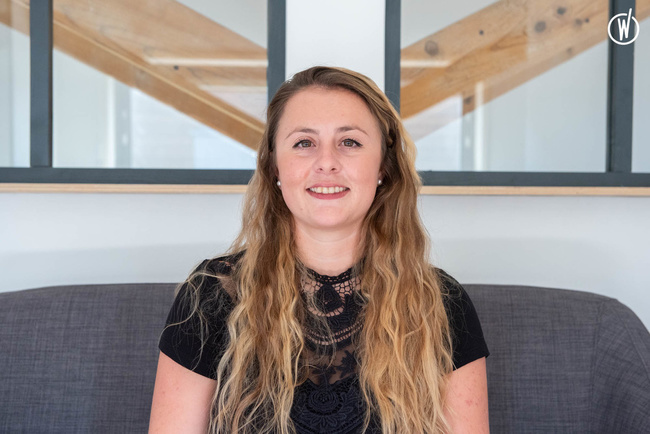 Meet Léa, Senior project manager