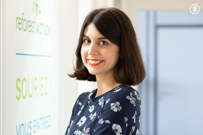 Rencontrez Anne-Lise, Responsable de la communication grand public - Reforest'Action