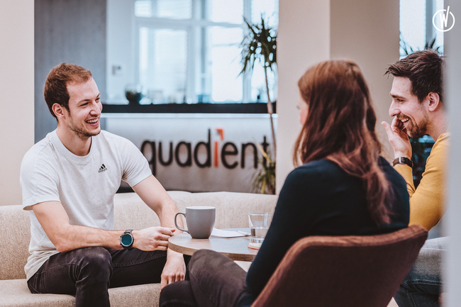 Discover company culture at Quadient! - Quadient