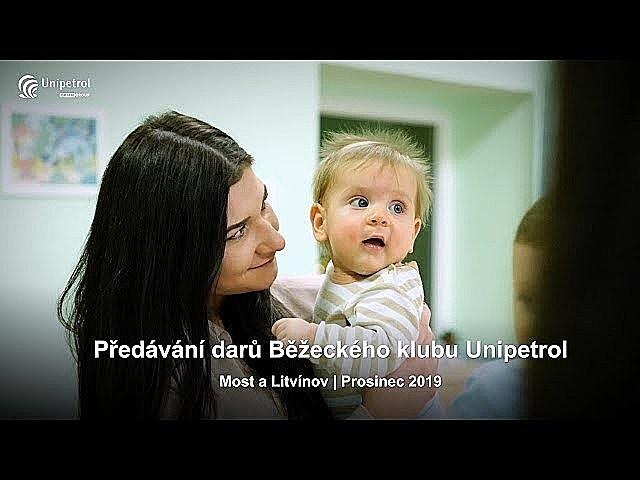 Předávání darů - Unipetrol