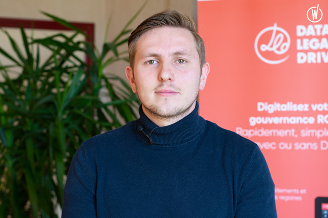 Rencontrez Maxime, Customer Success Manager - Data Legal Drive