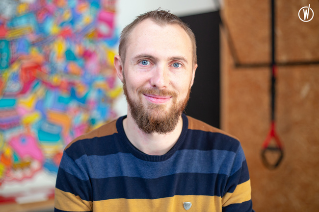 Rencontrez Michael, Lead Developer - FizzUp