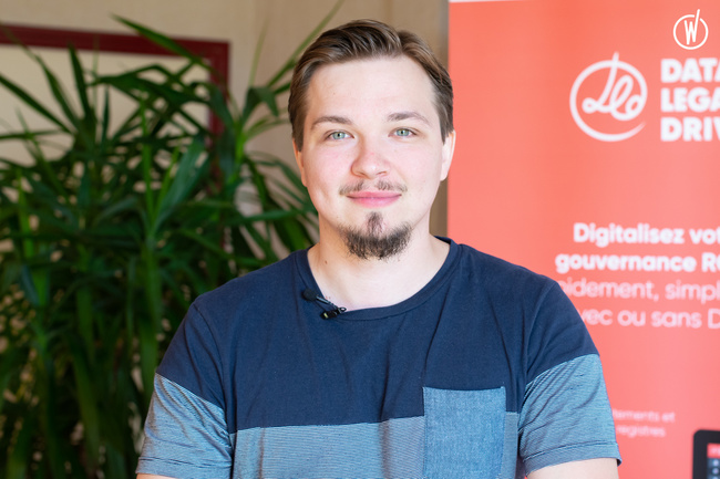 Rencontrez Benjamin, Software Développeur - Data Legal Drive