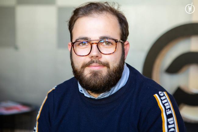 Rencontrez Thomas, Développeur Concepteur Web