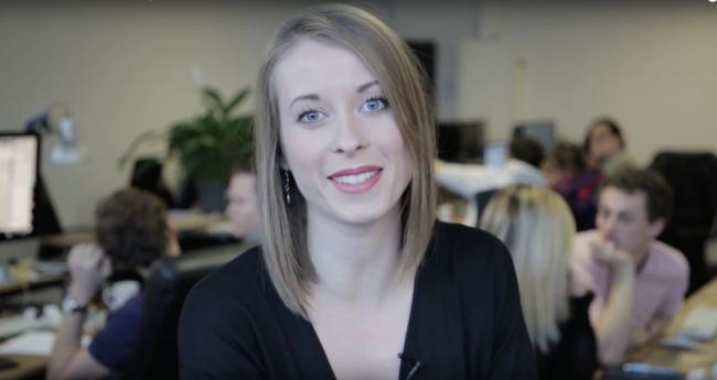 Meet Mélanie, Business dev