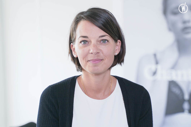Rencontrez Caroline, Responsable CRM et Data Management - Groupe Chantelle Lingerie